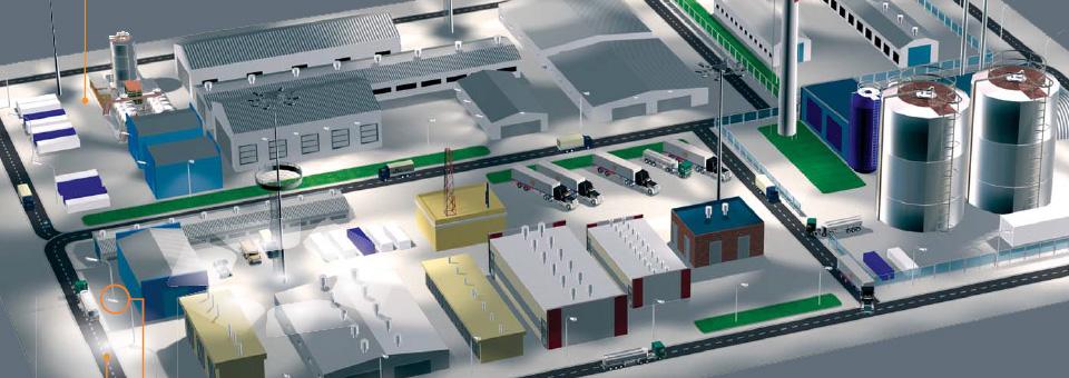 Инновационное освещение для объектов нефтегазовой отрасли