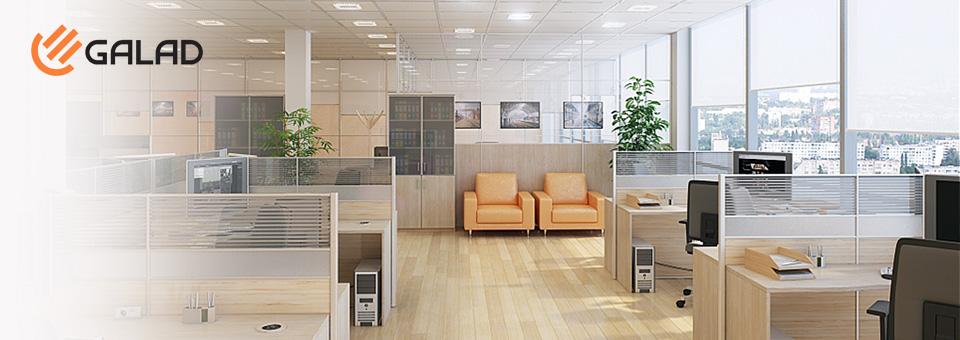 Новые светодиодные светильники GALAD для освещения офисных помещений