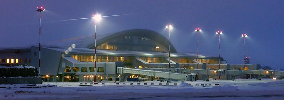 Новый международный терминал аэропорта «Курумоч»
